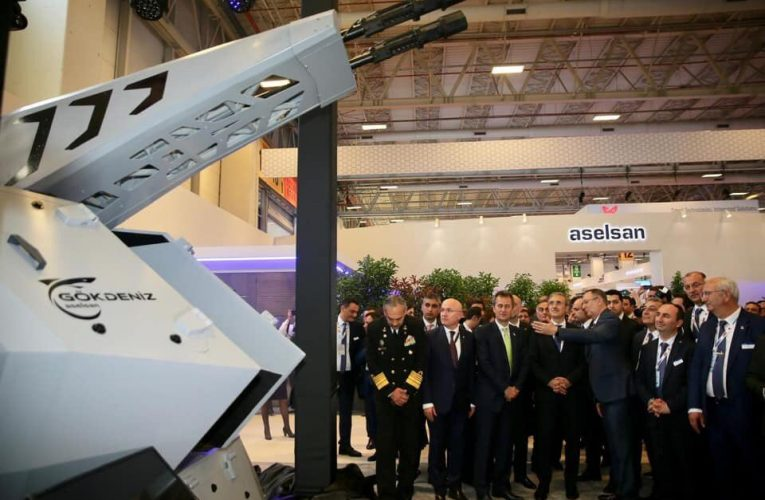 Aselsan Exports First CIWS to Asia