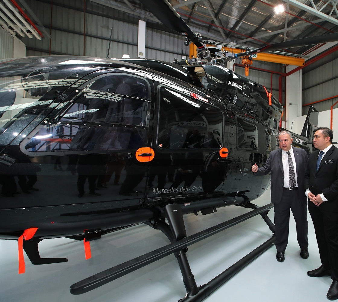 Airbus Helicopters Malaysia Expands Delivery Centre And Training Facility Asian Defence Journal