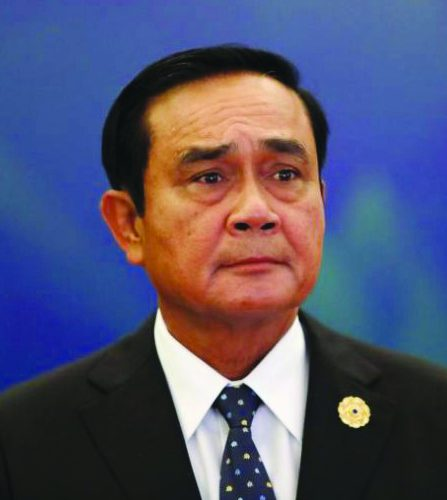 Gen Prayut Confirmed Prime Minister