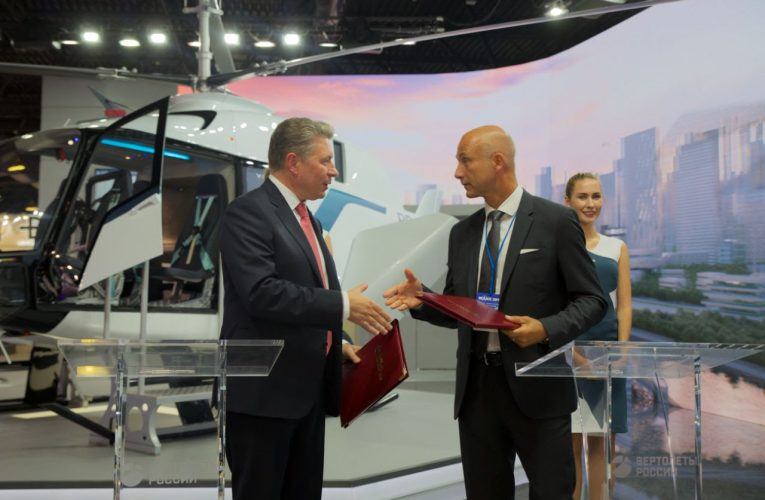 Latest Russian VRT500 Helicopters for Malaysia