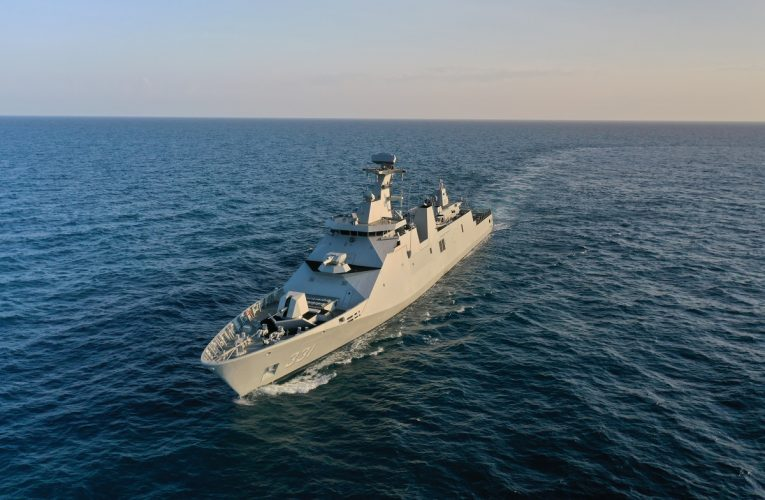 Damen Completes Combat Systems Installation & Trials on Indonesian Guided Missile Frigate