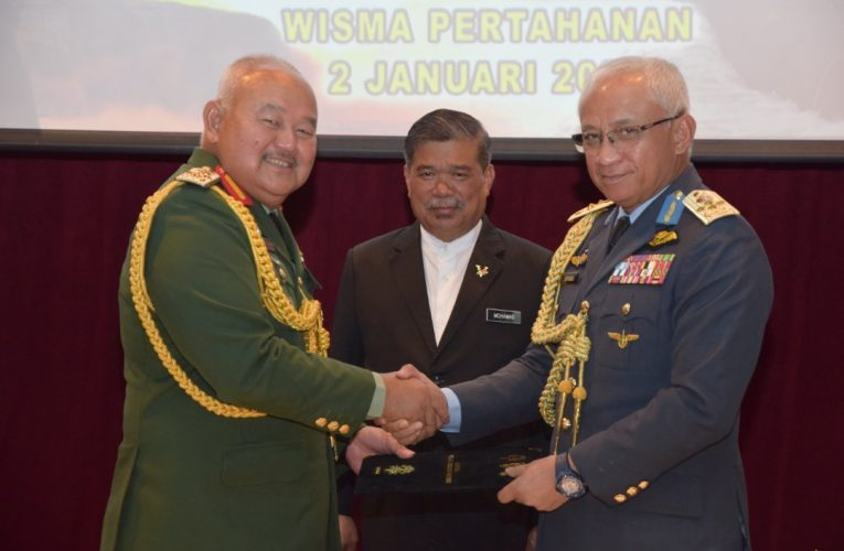 New CDF, Air Force Chief for Malaysia