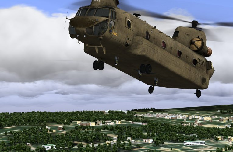 RSAF Upgraded CH-47 Chinook Simulator Enters Service