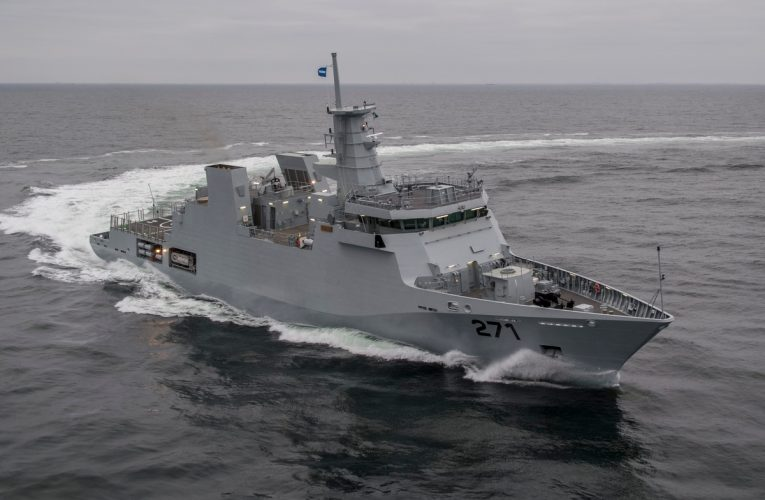 Pakistan Navy's New OPV PNS Yarmook
