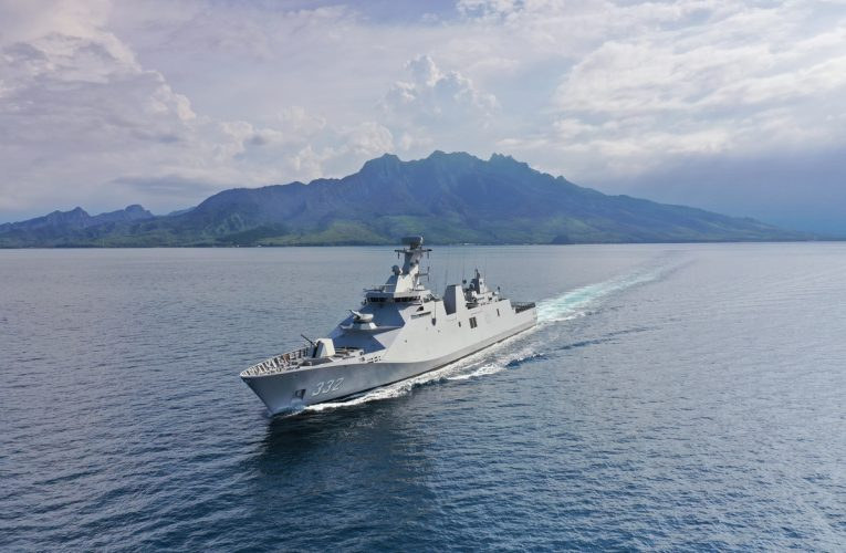 Damen Completes Combat Systems Installation, Trials on Second Indonesian Frigate