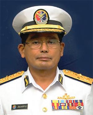 Malaysia Coast Guard Director General, Admiral (Maritime) Zulkifili Abu Bakar