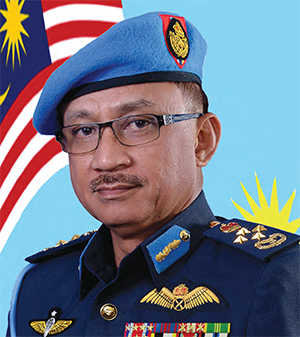 Malaysia Chief of Air Force, General Affendi Buang
