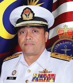 Chief of the Royal Malaysian Navy, Admiral Mohd Reza Mohd Sany