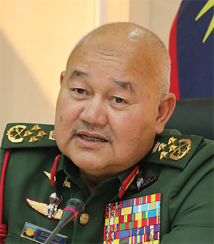 Malaysia Chief of Defence Forces, General Zulkifli Zainal Abidin