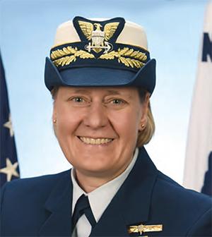 Pacific Commander USCG, Vice Admiral Linda L Fagan