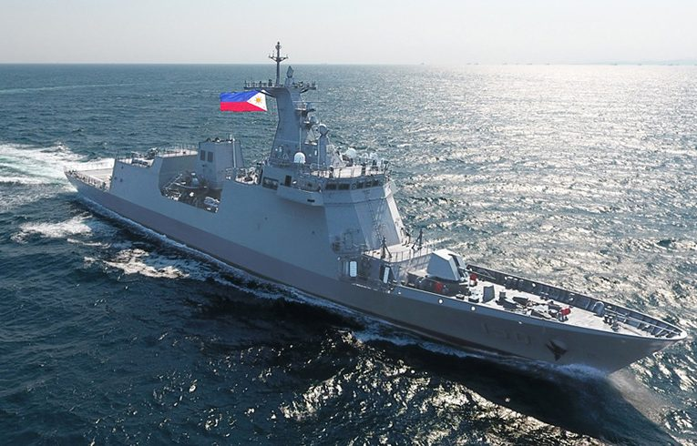 Philippine Navy Newest Frigate Sails for Home