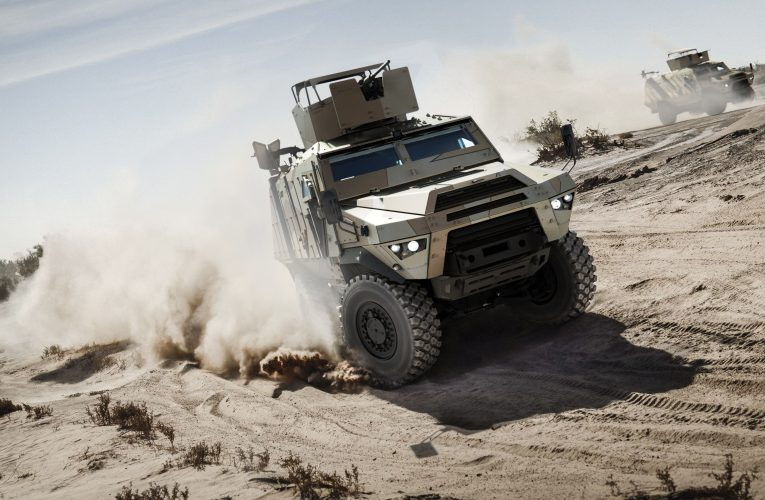 Enter the Fortress Mk2, Arquus' New 4×4 Armoured Personnel Carrier