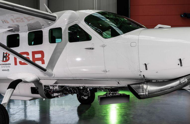 HENSOLDT's Airborne Multi-Mission Radar First Flight