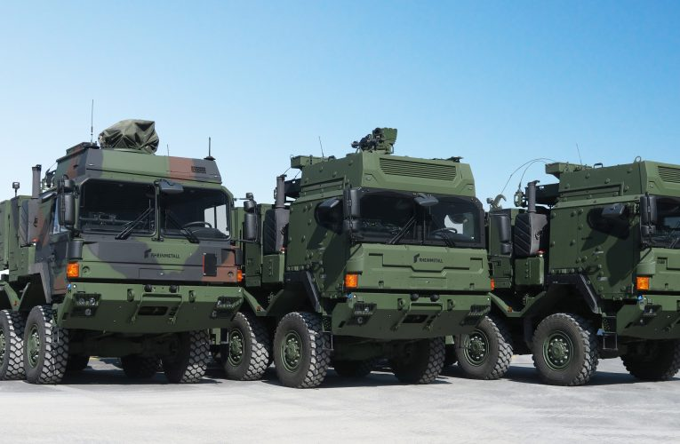 Rheinmetall Bags Major Military Truck Contract, Widens Industry Lead