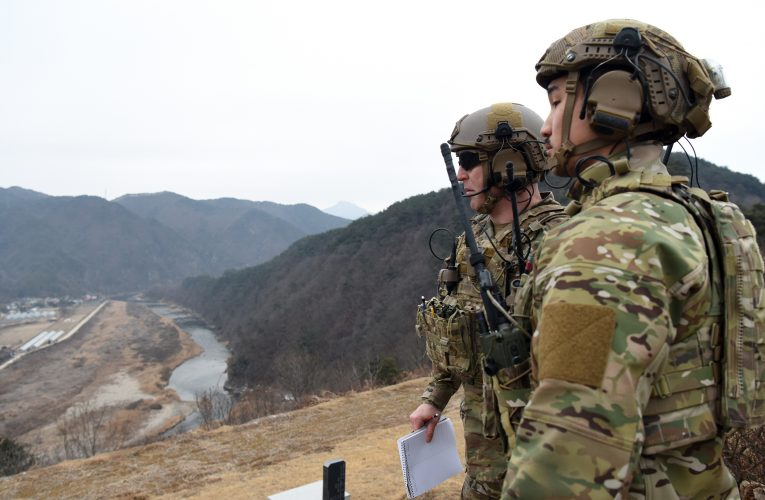 US and South Korea Joint Military Exercise Underway