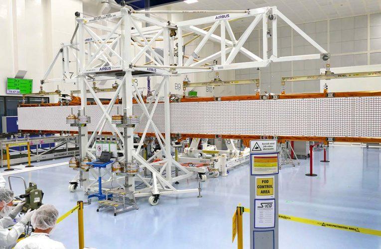 Sentinel-1C Radar Antenna Spread its Wings
