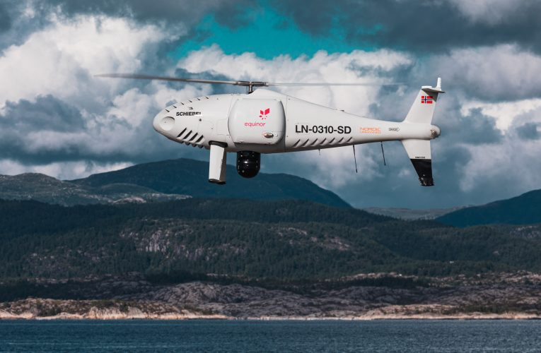 Schiebel Camcopter®S-100  Make World's First Full-Scale Offshore UAV Flight