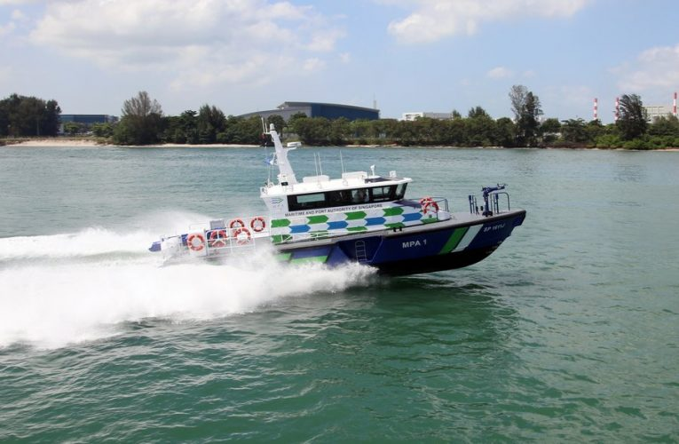 Singapore Port Authority Debuts New Vessels for Maritime Surveillance