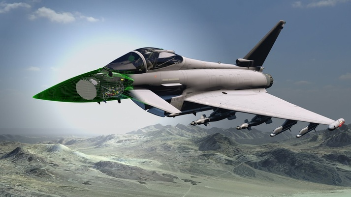 Contract Awarded to Develop Next Generation AESA Radar for Typhoons