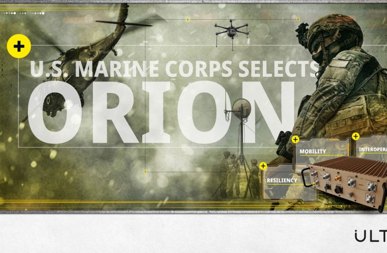 Ultra Gets $31M Order for ORION Tactical Communications Systems