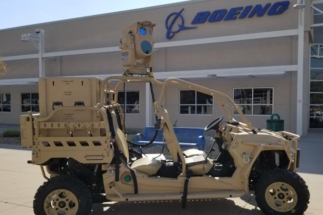Boeing Showcases Compact Laser in Air Force Future Battlefield Exercise