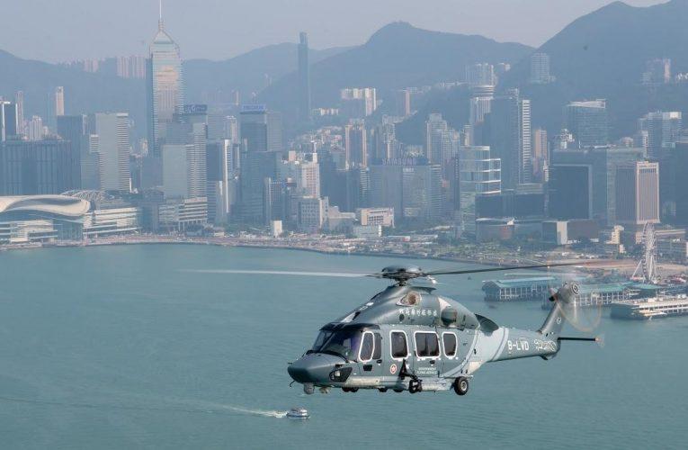 Hong Kong Government Flying Service's H175 Fleet Milestone