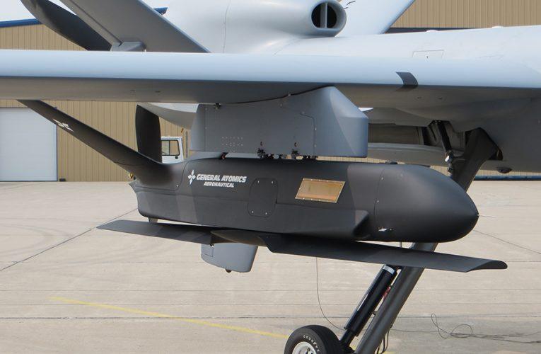 GA-ASI Conducts Sparrowhawk sUAS Filight Tests