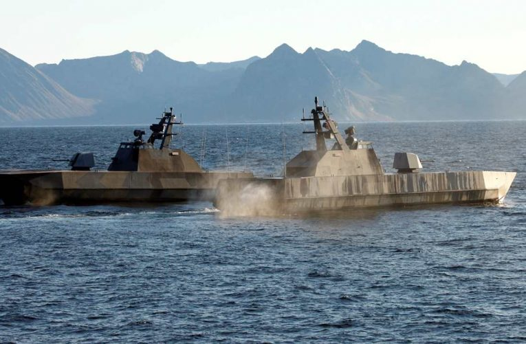 UMOE And Kongsberg Cooperates on Life Time Extension For Skjold-Class Coastal Corvette
