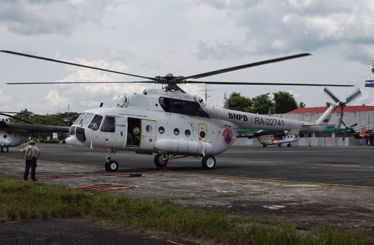 Russian Helicopters Launch Mi-8 Test Programme In Indonesia