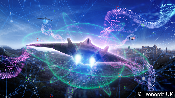 Futuristic Radar for the UK's Future Combat Aircraft