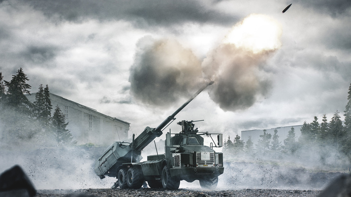 BAE Systems ARCHER Howitzer for US Army's 155 mm Wheeled Gun System