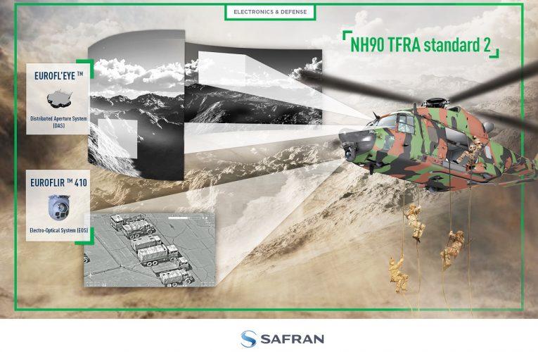 Safran's New-Generation Euroflirtm 410 Observation System on NH90