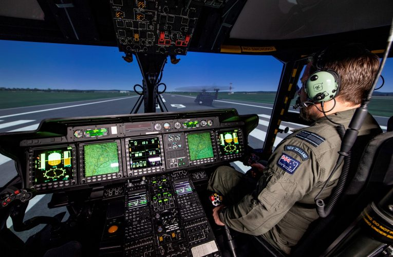 CAE Hands Over CAE 700MR NH90 Simulator to Royal New Zealand Air Force
