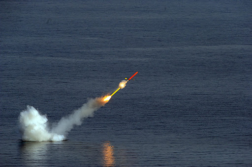 MdCN Cruise Missile and Exocet SM39 Firings by French Submarine Suffren