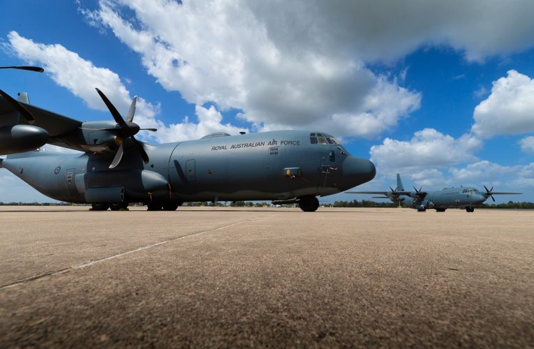 RAAF C-130J Fitted with High-Speed SATCOM