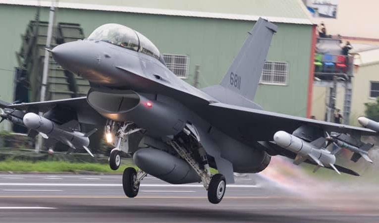 Taiwan Grounds Entire Fleet F-16 Fighters After Pacific Crash