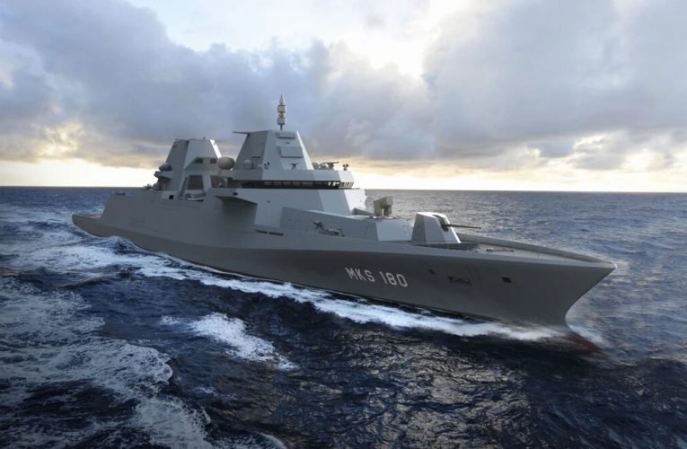 Damen and Thales To Build German MKS 180 Frigate of the Future
