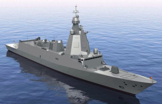 Kongsberg Contract to Supply Propeller for Future Spanish Naval Frigates
