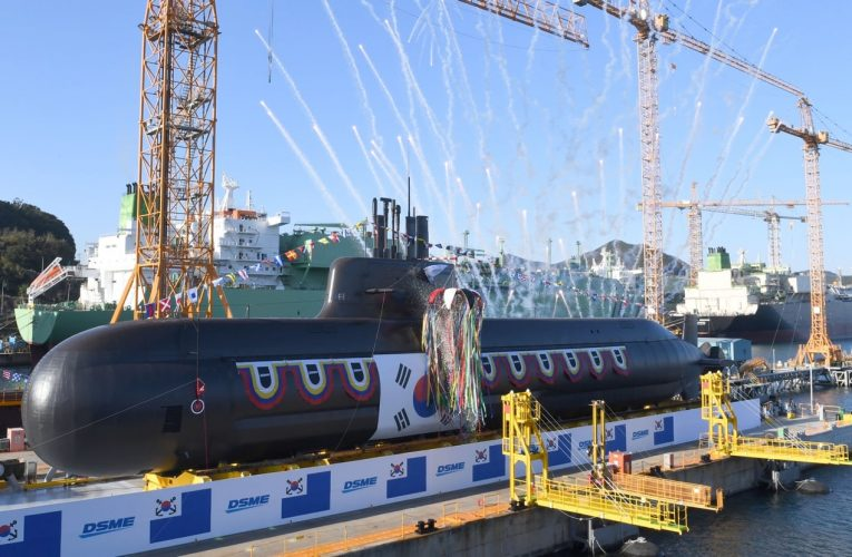 South Korea Launch Second 3,000-Ton-Class SLBM capable Submarine
