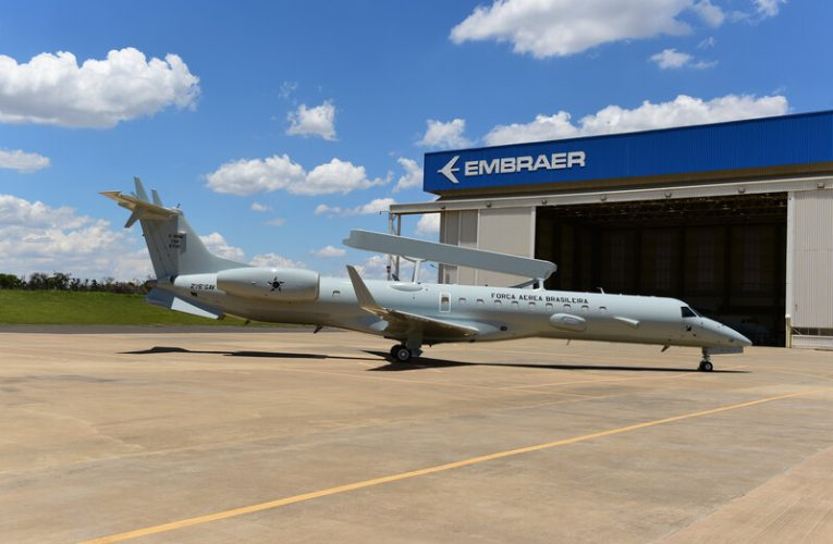 Embraer Delivers First Modernised E-99 Jet to Brazilian Air Force
