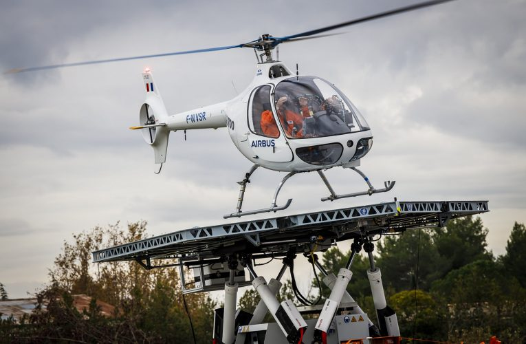 VSR700 Achieves Autonomous Take Off and Landing from Moving Platform