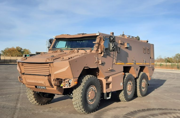 Nexter Delivers Latest Griffon to French DGA
