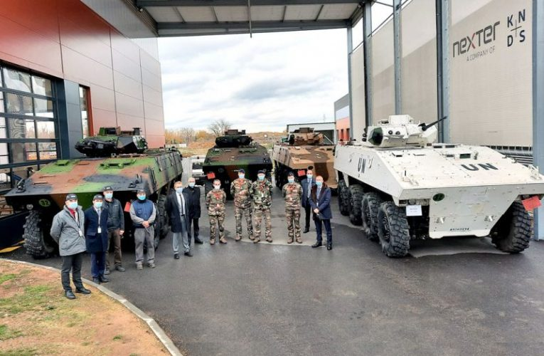 Nexter Delivers First Regenerated Armoured Infantry Fighting Vehicles
