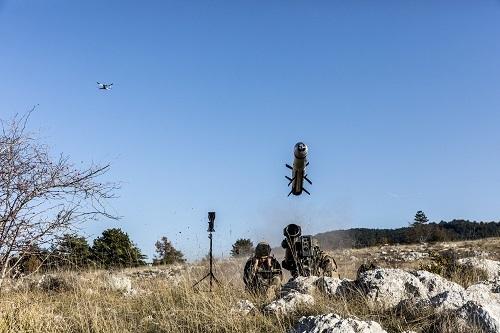 Successful MMP Firing with Target Designation Novadem Drone