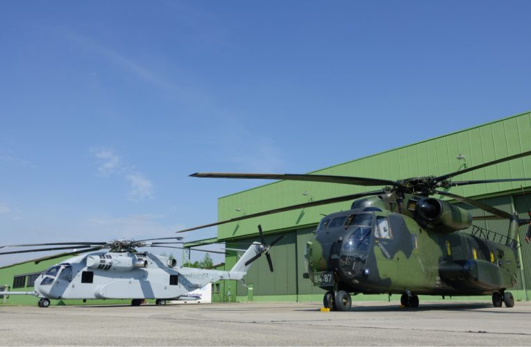 Sikorsky and Rheinmetall expand Industrial partnership on CH-53K Heavy-lifter