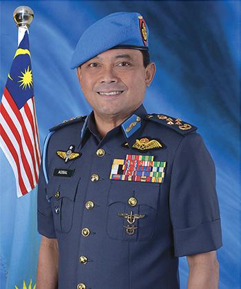 General Datuk Seri Ackbal Abdul Samad, Chief of RMAF