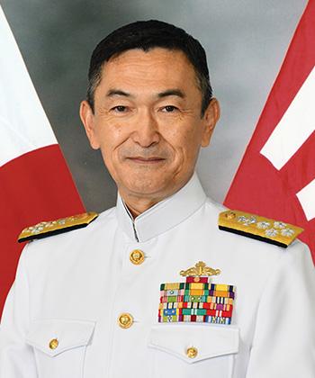 Admiral Hiroshi Yamamura, Chief of Staff, JMSDF