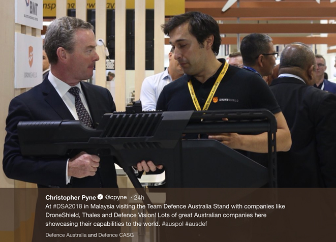 DroneShield's Pyne & Partners Appointment