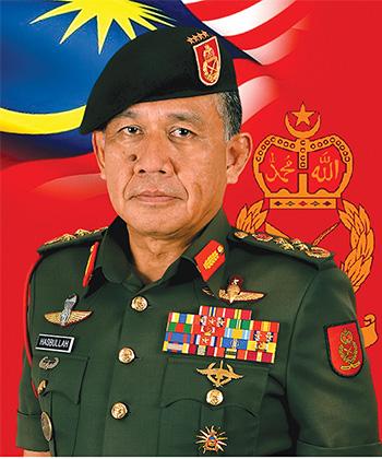 General Tan Sri Ahmad Hasbullah Mohd Nawawi, Chief of Malaysian Army