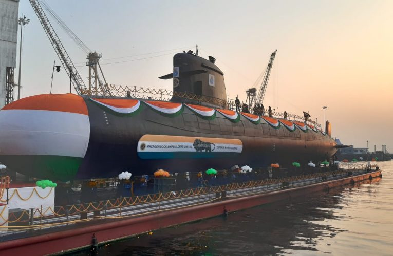 Third Scorpene Submarine Delivered to Indian Navy